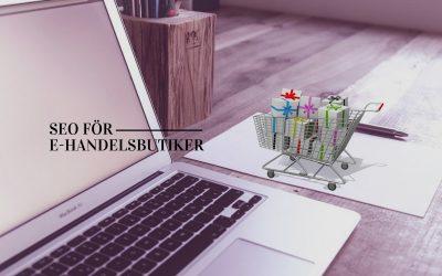 27 SEO-tips för e-handelsbutiker